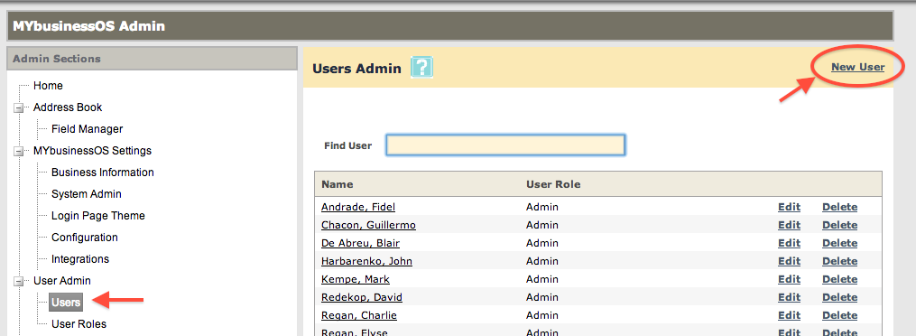 Add a New User1