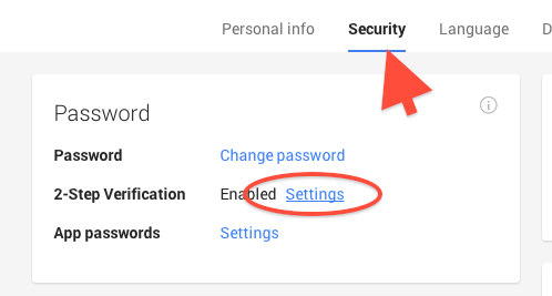 Turn ON 2-Step Verification (Google)11