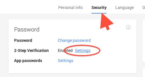 Turn ON 2-Step Verification (Google)11