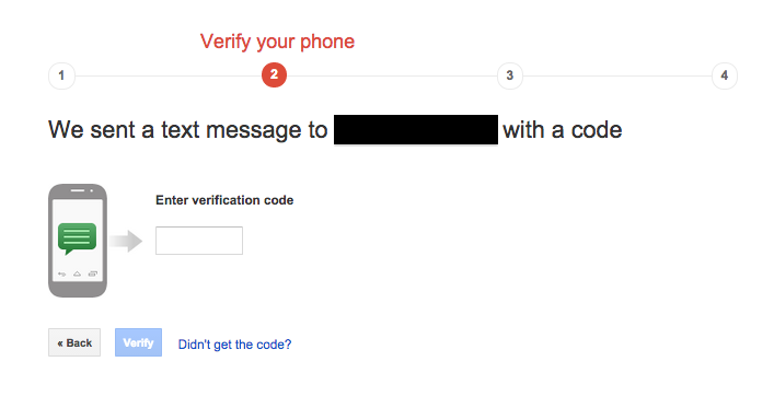 Turn ON 2-Step Verification (Google)3